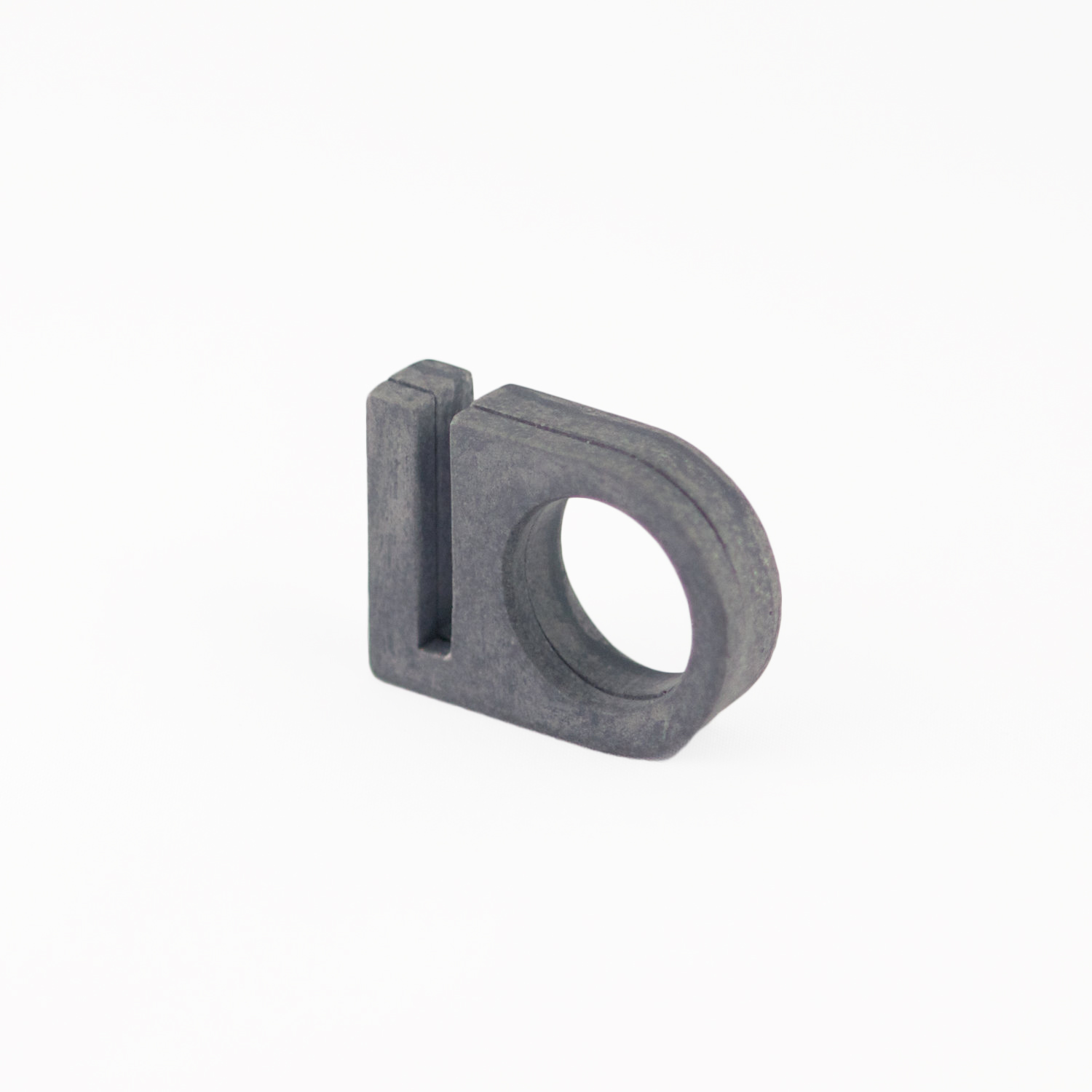 SHOP NOW Curved Block w/Cut ring