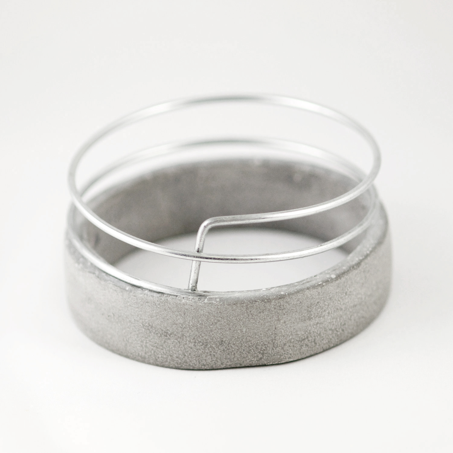 CEMENT CHEMISTRY Even w/ Wire Bracelet | The Greek Designers