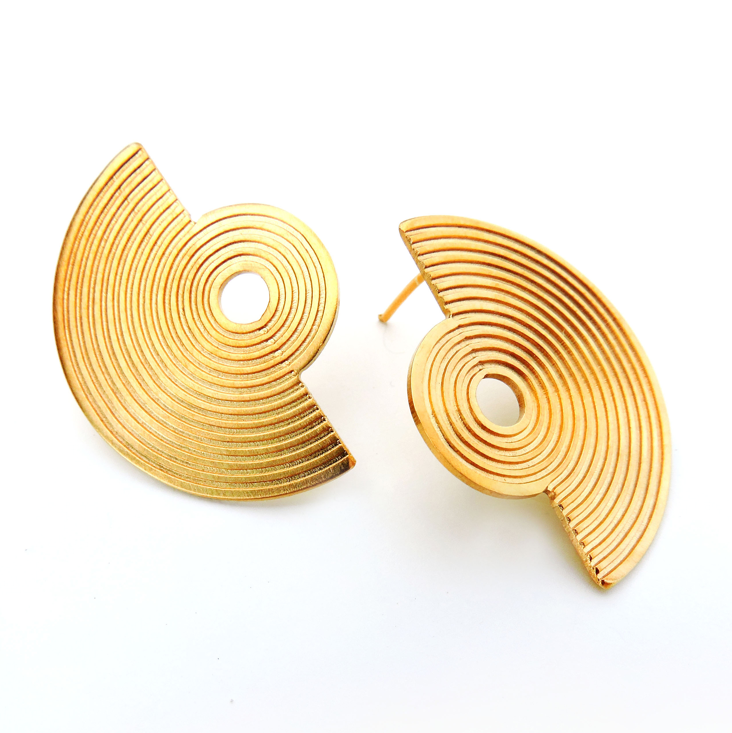 earrings gold goldplated rose guinness earri plated