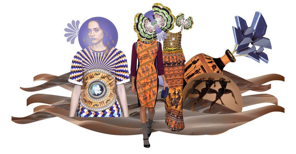 Mary Katrantzou De Codes Amphora Symbol