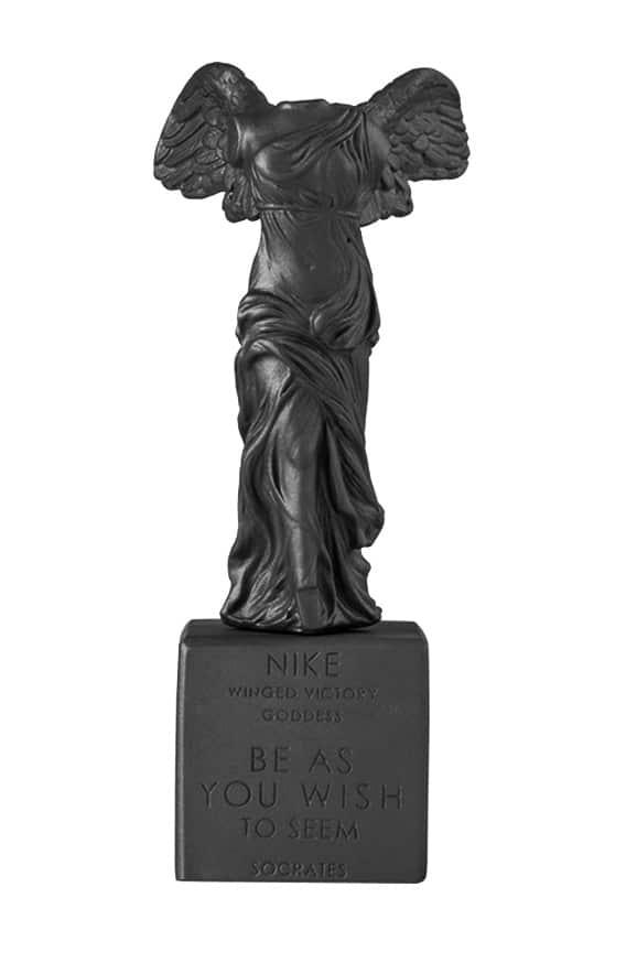 Winged Nike of Samothrace Statue Sophia