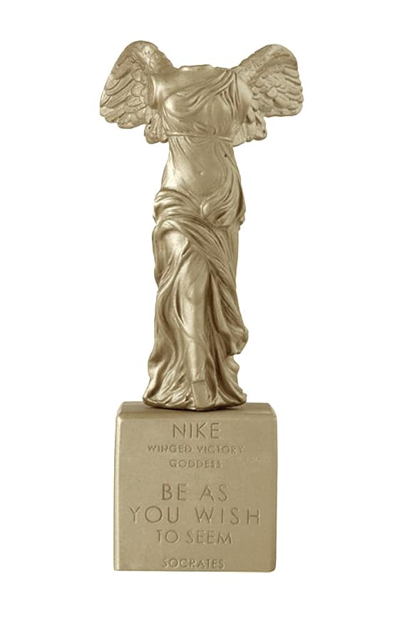 Winged Nike of Samothrace Decorative Statue Sophia
