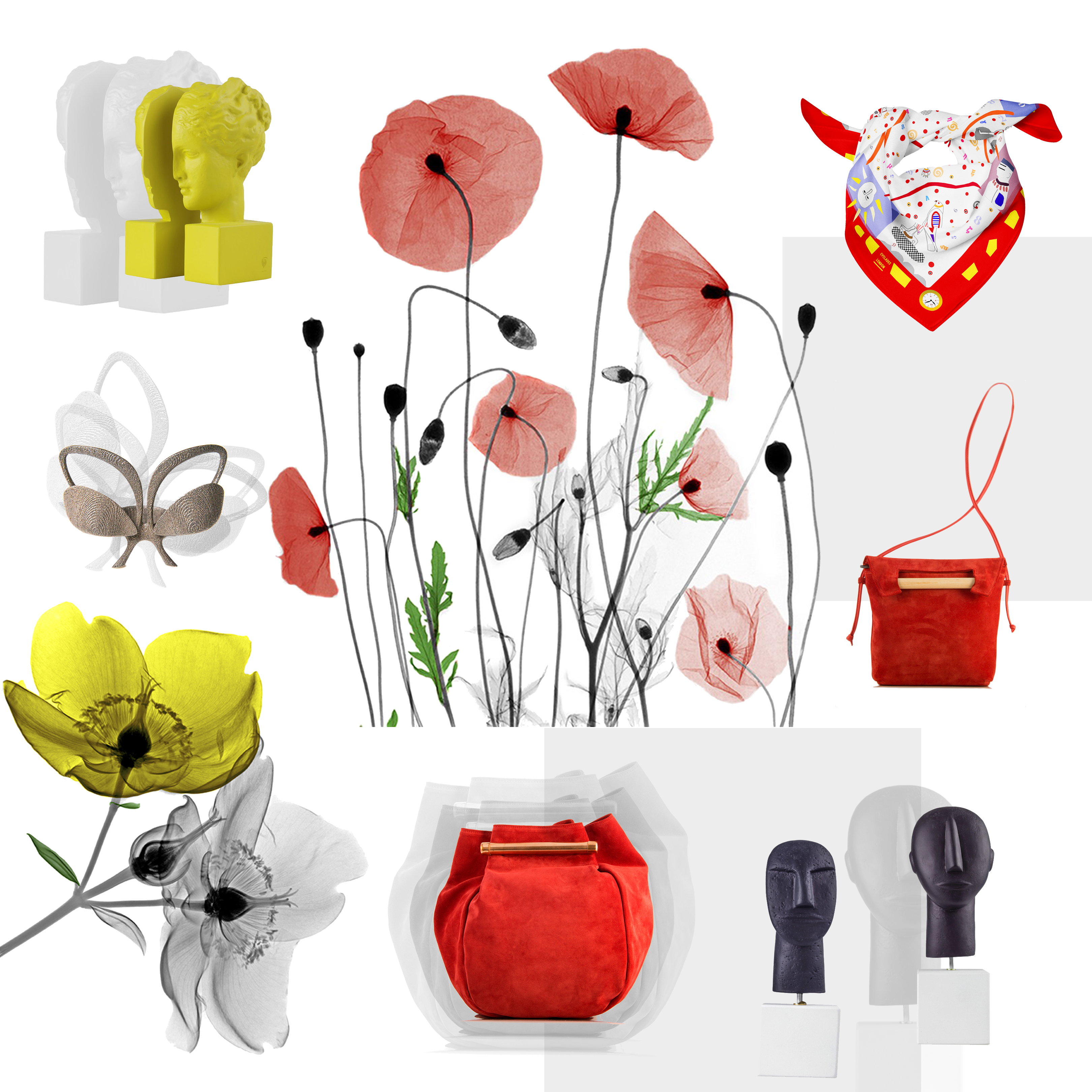 Inspiration the greek designers spring blooming tales moodboard biocorpaavc Image collections