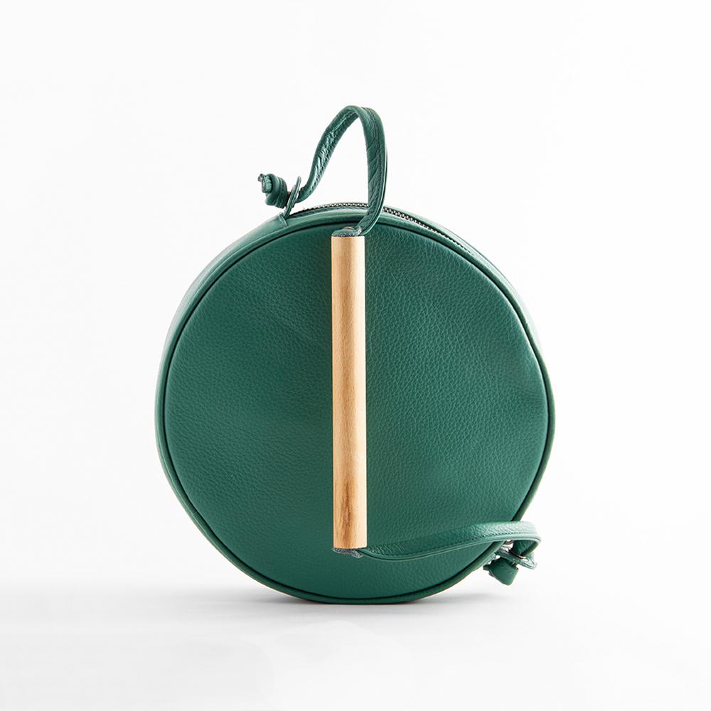MERAKI Flaneur Shoulder Bag in Rainforest Green