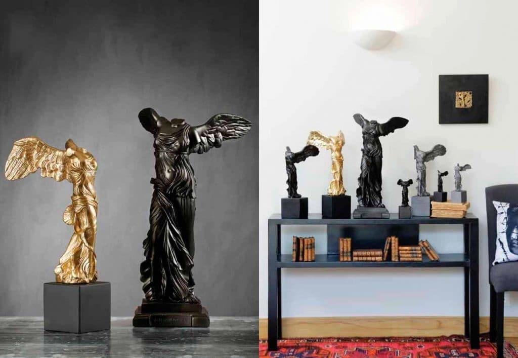 Winged Nike of Samothrace Sophia Statues
