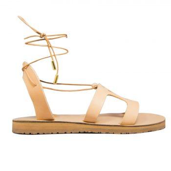 KALLINIKI Amphitrite Natural Sandals