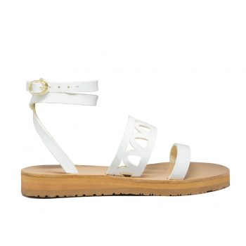 KALLINIKI Atlantis White Sandals