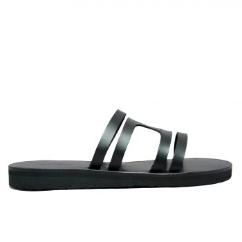 KALLINIKI Doris Black Sandals