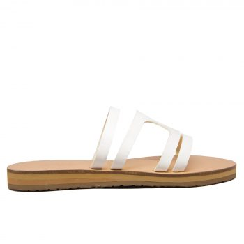 KALLINIKI Doris White Sandals