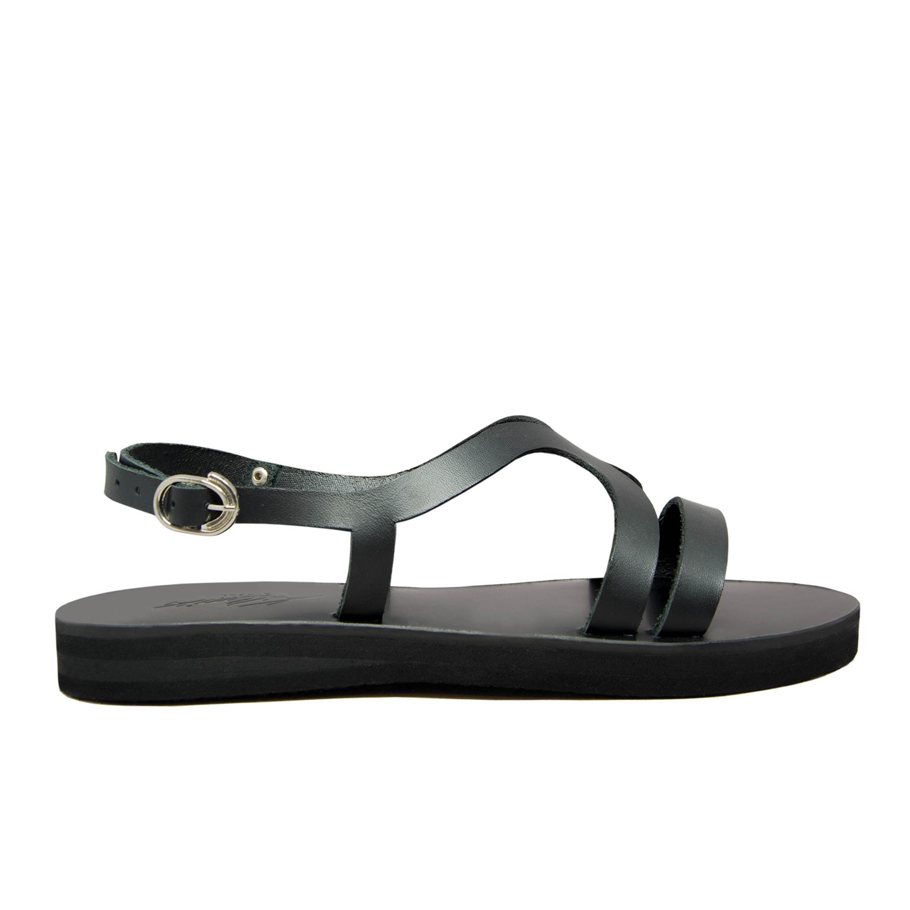 KALLINIKI Kalypso Black Sandals