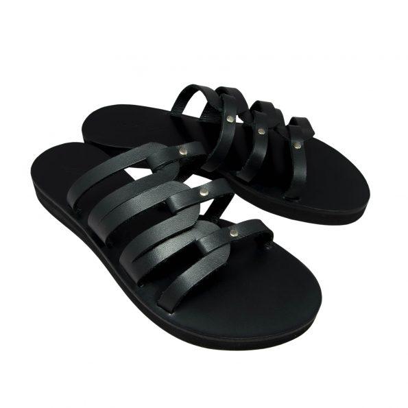 KALLINIKI Kymo Black Sandals