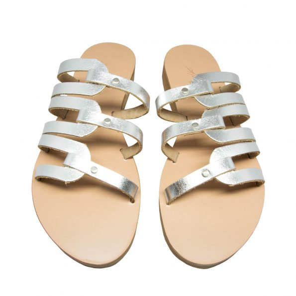 KALLINIKI Kymo Silver Sandals