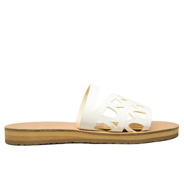 KALLINIKI Oceanis White Sandals