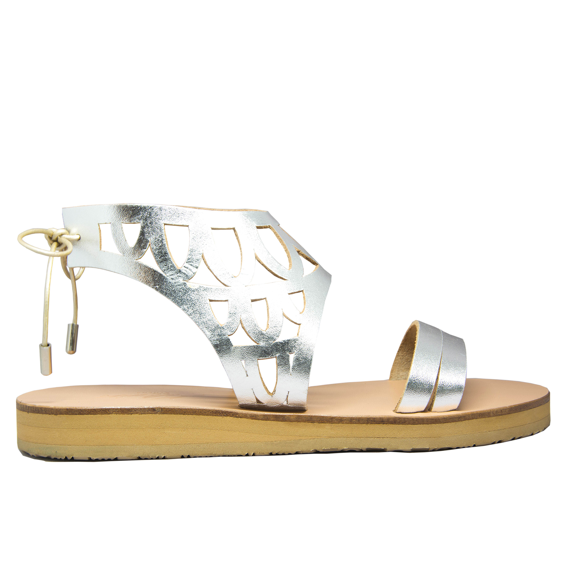 KALLINIKI Siren Silver Sandals