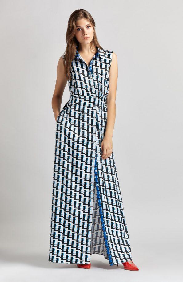 THE ARTIANS Nymph Shirt-Dress