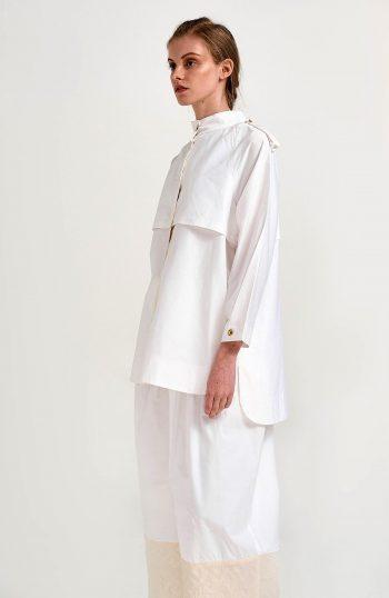 ERGON MYKONOS Aspasia Shirt White