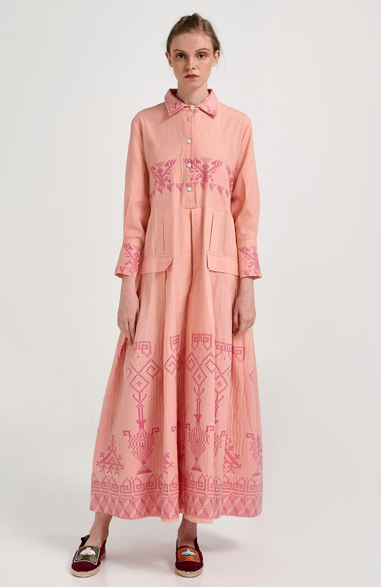 ERGON MYKONOS Avra Dress Pink