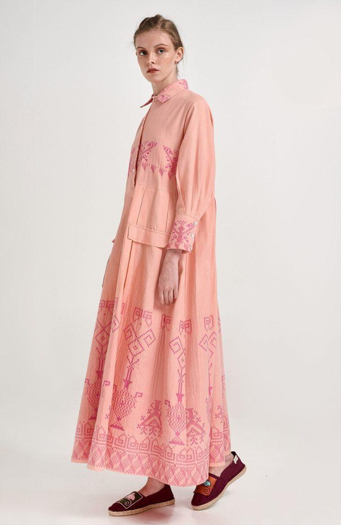 ERGON MYKONOS Avra Dress Pink