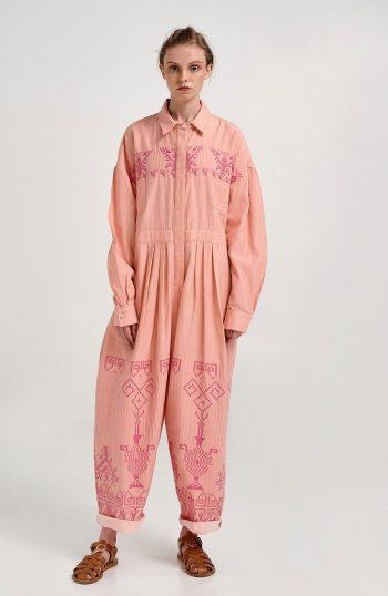 ERGON MYKONOS Epidavrus Jumpsuit Pink