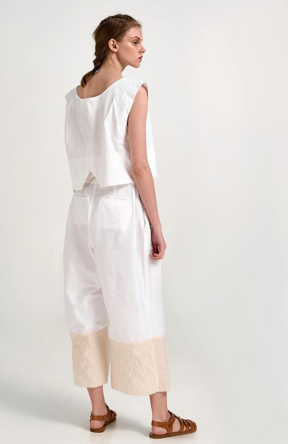 ERGON MYKONOS Kallisto Trousers White