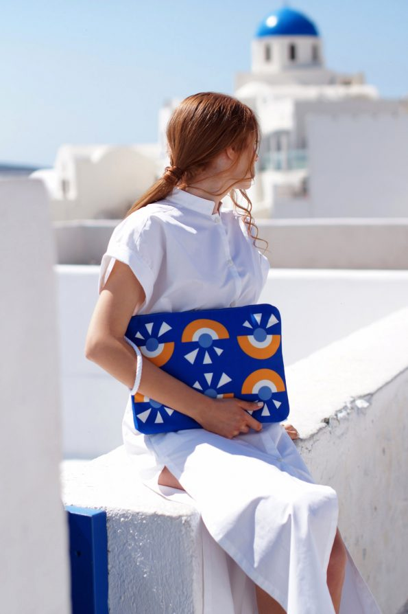 ARTPECKERS Cyclop Scuba Blue Pouch