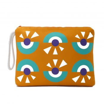 ARTPECKERS Cyclop Scuba Orange Pouch