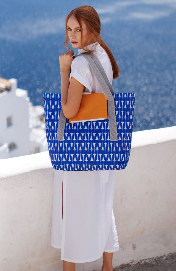 ARTPECKERS Penelope Blue Bag