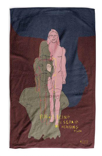 ERGON MYKONOS Female Statue Towel