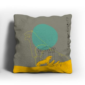 ERGON MYKONOS Lion Terrace Pillow Case