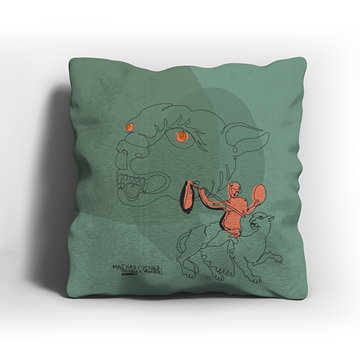 ERGON MYKONOS Panther Pillow Case