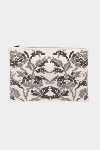 POSTFOLK 'Winter Bloom' Clutch Bag