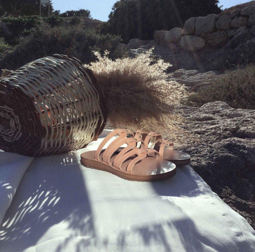 Kalliniki Sandals Kymatismos Collection