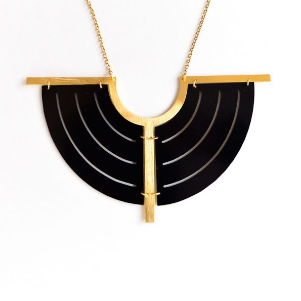 MEET THE CAT Circle Division Necklace