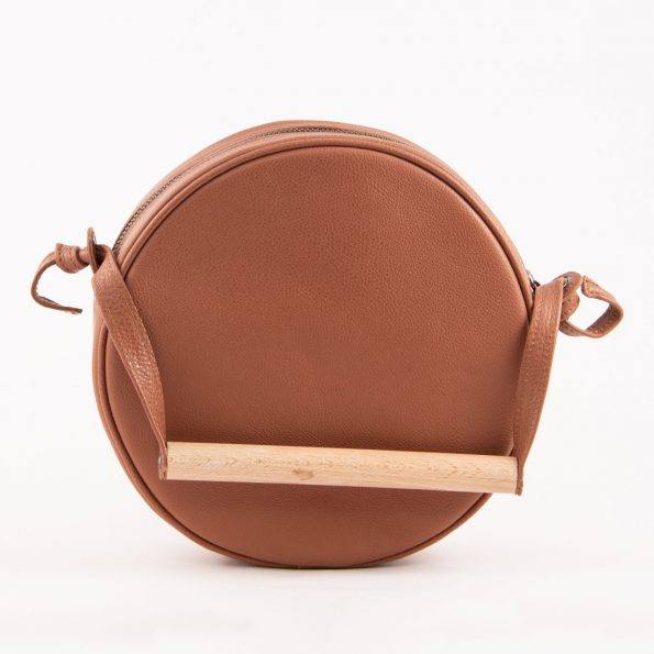 MERAKI Flaneur Clutch Earthy Brown