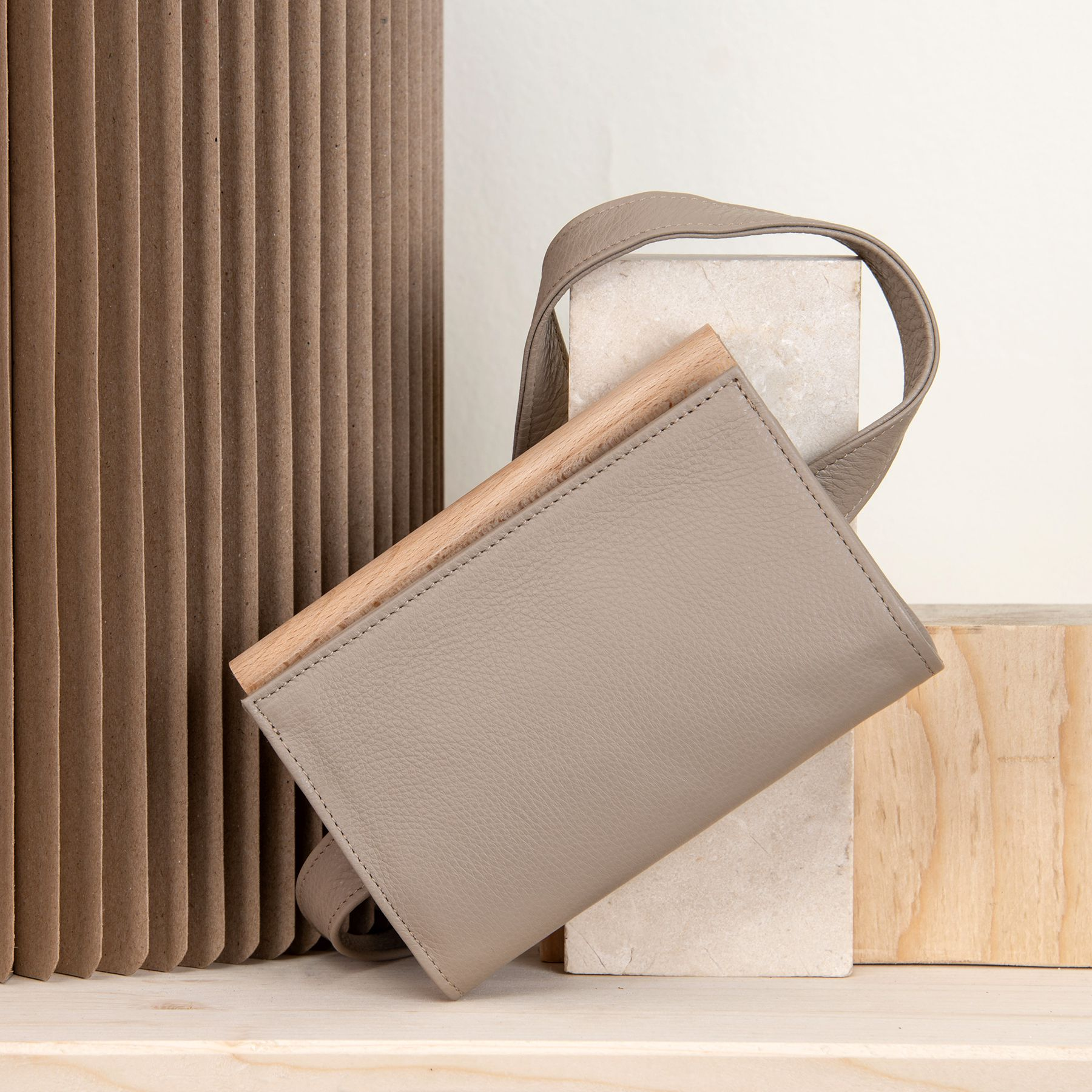 MERAKI Lagom Belt Bag Warm Grey