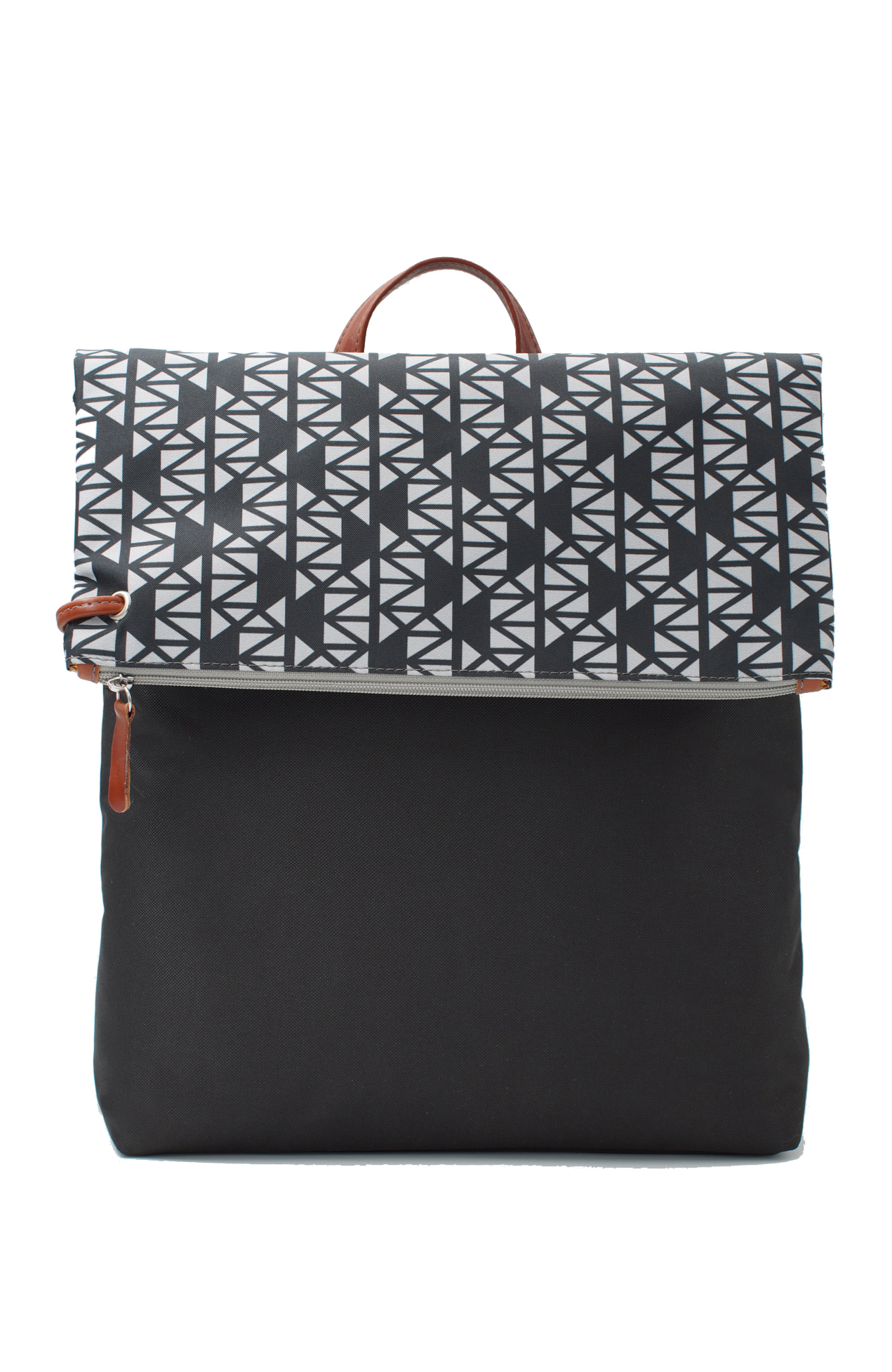 Artpeckers pomegranate black grey backpack the greek - Black and grey house ...