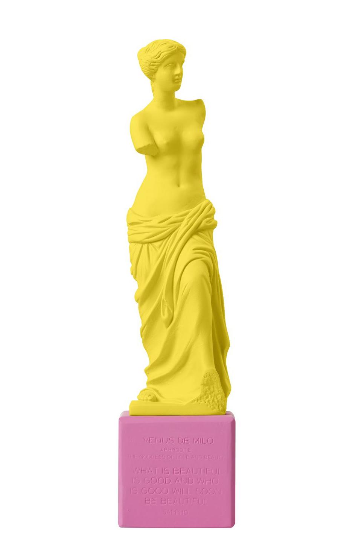 Venus de Milo Medium Statue Yellow
