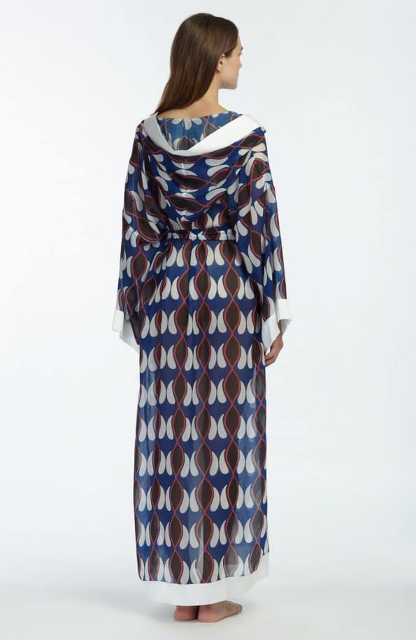 THE ARTIANS Kyvele Hooded Kaftan