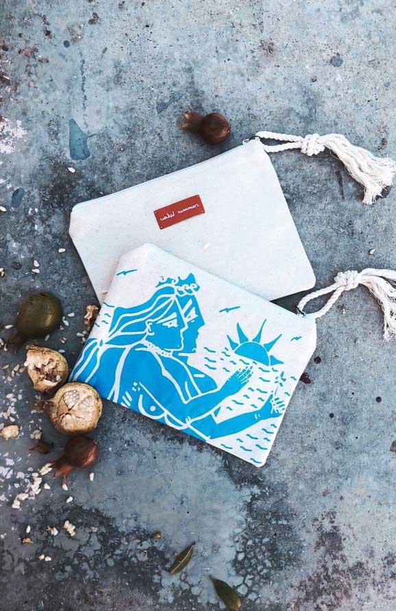 NAKED SUMMERS Sunset Pouch