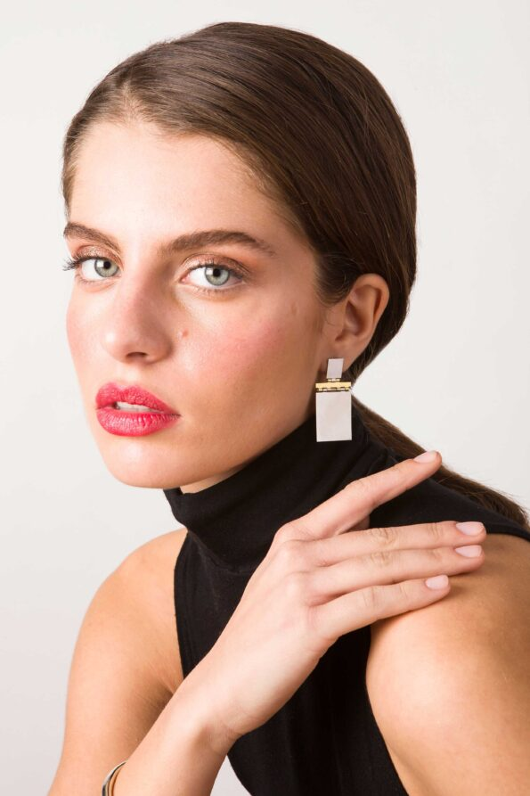 BORD DE L' EAU Flap Earrings